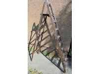 Large Wooden Step Ladder - Ideal For Shop Display, Wedding Display