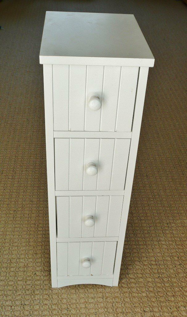 white tongue and groove bathroom cabinet home white slimline tongue and groove 4 drawer wood effect 25891
