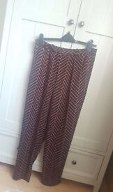 Topshop Print Trousers 12