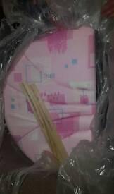 New Pink headboard