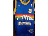 HARDWOOD CLASSIC NBA JERSEY - Denver Nuggets Allen Iverson Men's Small