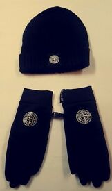Stone island hats gloves