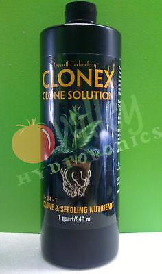 Clone Solution - CLONEX CLONE SOLUTION 1 QT Quart 32 OZ Cloning Rapid Root Development (HDCCSQT)