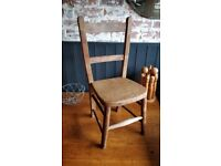 Vintage school chair, kids chair, small wooden chair, vintage chair, vintage nursery chair,