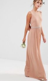 Tfnc taupe bridesmaid dresses