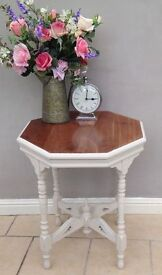 Octagonal Lamp / Hall Table