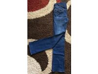 H&M Mama Bootleg Jeans size 12