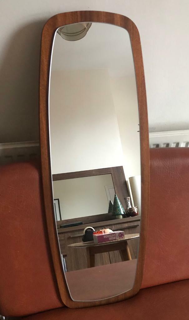 Beautiful Danish Vintage 60s 70s Retro Teak Mirror Amazing Condition In Leicester Leicestershire Gumtree