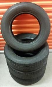 (Z9) 4 Pneus Ete - 4 Summer Tires 195-65-15 Bridgestone 2x 7/32 2x 9/32