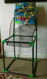 Teenage mutant Ninja Turtles basketball set