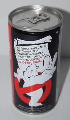 Unopened 1989 Ghostbusters II Slimer GHOST Air Can, Coca-Cola, Soda, Coke - 2