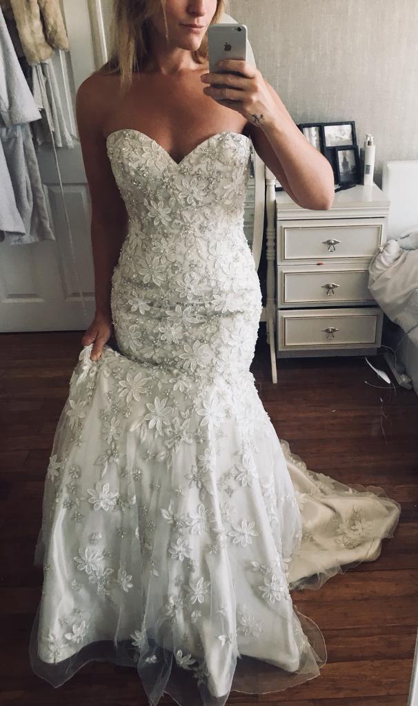 Kenneth Winston Wedding Dress 10 In Ipswich Suffolk Gumtree