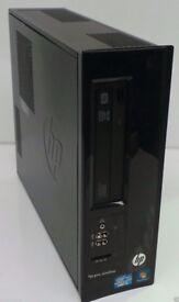 HP Pro 3300 Series SFF Core I3 2.8GHz 4GB RAM 320GB HDD