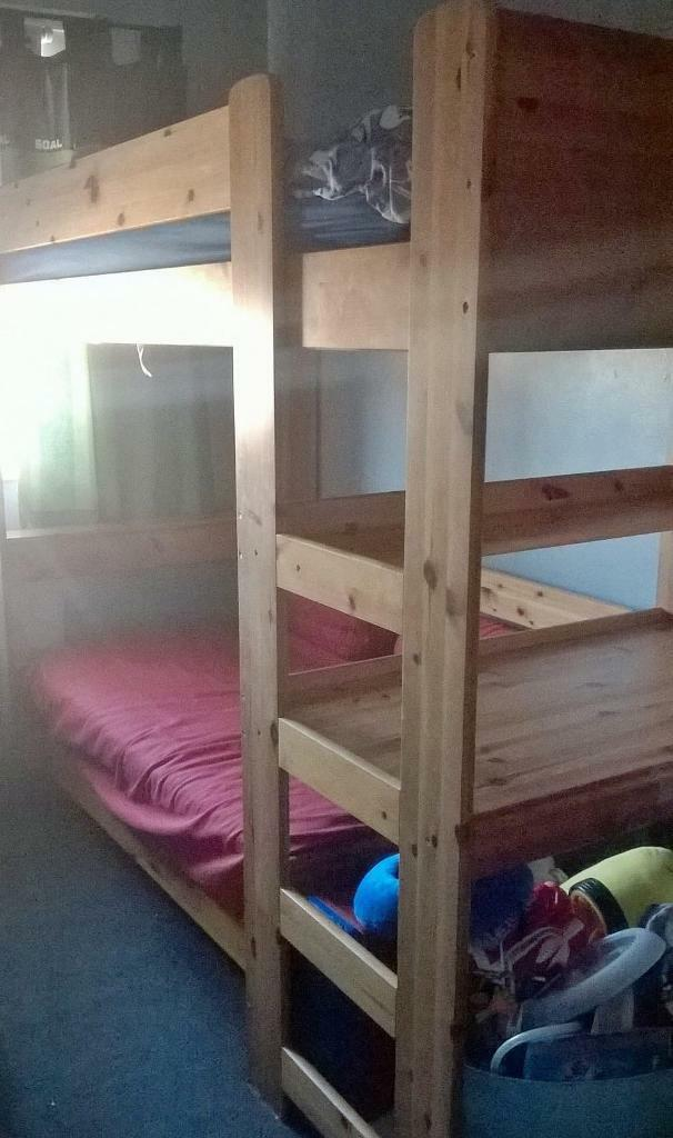 Stompa Pine High Sleeper Cabin Bed In Kennington Kent Gumtree