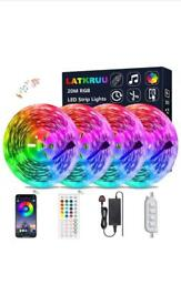 LED light strip 20 meters - Bluetooth and remote control