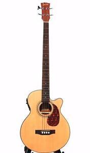 Bass Acoustic Bass Guitar 48 inch pickup EQ iBass241 iMusicGuitar