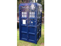 full size dr who tardis for hire