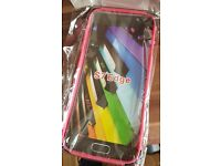 Pink & Black Samsung Galaxy S7 Edge case