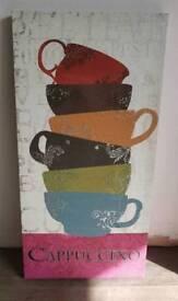 Cappuccino Canvas