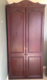 Wardrobe cupboard mahogany