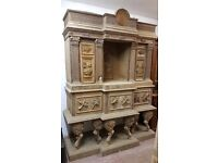 Beautifully Hand Carved Cabinet