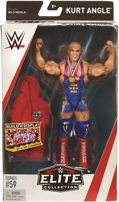 Kurt Angle WWE Mattel Elite Series 59 BRAND NEW Action Figure - Mint Packaging