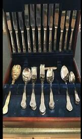 Canteen of Cutlery - 46 Piece - Stainless Steel
