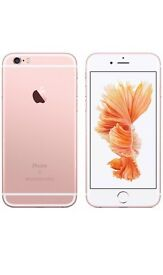 iPhone 6s rose gold 16GB unlocked