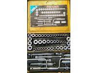 Hilka Pro Craft half inch, socket set, 52 piece