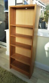 Small bookcase, CD or DVD storage.