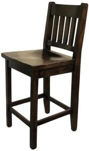 Custom Build Solid Canadian Wood Bar Stools for DIY Home Renovation Project - FREE SHIPPING