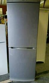 6ft Silver fridge freezer