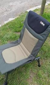 Carp fishing chair