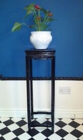 Up-Cycled Decorative Wooden Table (tall)