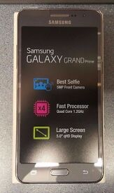 SAMSUNG GALAXY GRAND PRIME UNLOCKED DUAL SIM BRAND NEW WITH RECEIPT