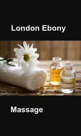 Ebony/ Black Massage in zone 1 London - Swedish, Full Body, Deep Tissue and Sports