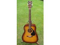 Yamaha Acoustic Guitar F310 TBS