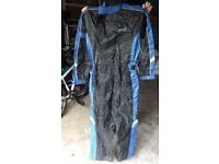 RST Motorcycle Wet Gear Waterproof All In One Over Suit - Size L
