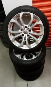 (H64) Pneus Hiver - Winter Tires 225-45-17 Hankook 10/32
