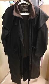 Driza-Bone wax riding jacket