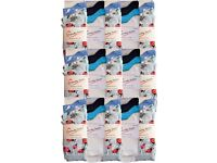 Wholesale Socks/ Job Lot/ Bargain Price: Ladies/Women 75 Packs (225 Pairs)
