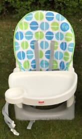 Fisher price space saving high chair