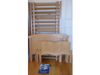 Mamas and Papas Francesca Cot/toddler bed - Beech Wood- Excellent condition