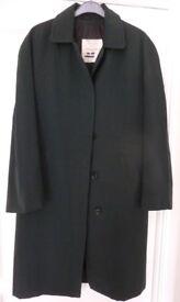 Womens Army vintage wrac Green Raincoat