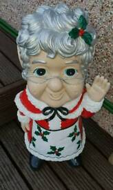 3ft Santa Grandma Gnome
