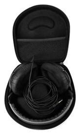 Hard Black EVA Storage case for Headphones.