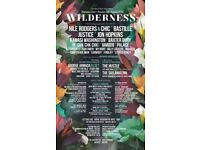 Wilderness festival general camping ticket