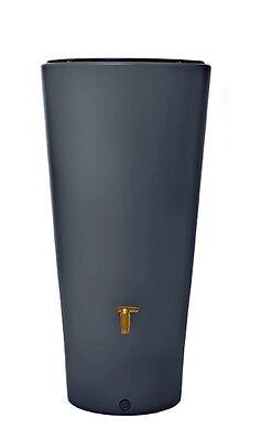 VASO 2 in 1 Regenfass Regenspeicher mit Pflanzschale Regentonne Wasserfaß Fass
