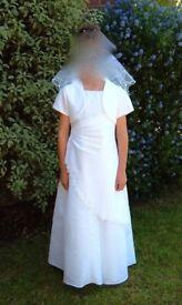 Holy Communion dress - age 8