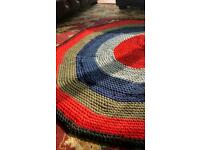 Beautiful Large Crochet Rug